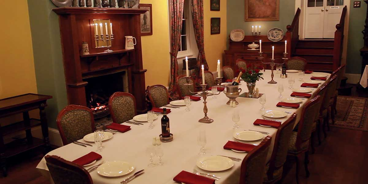 Faversham dining room