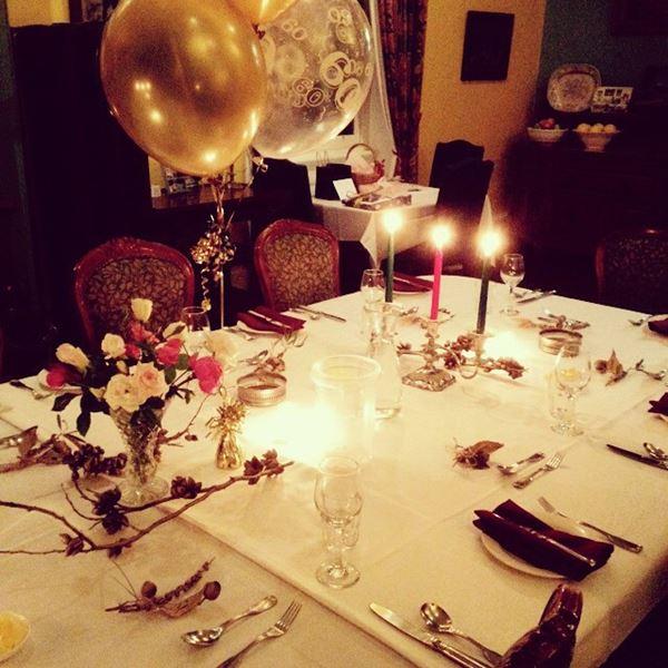 Celebration setting